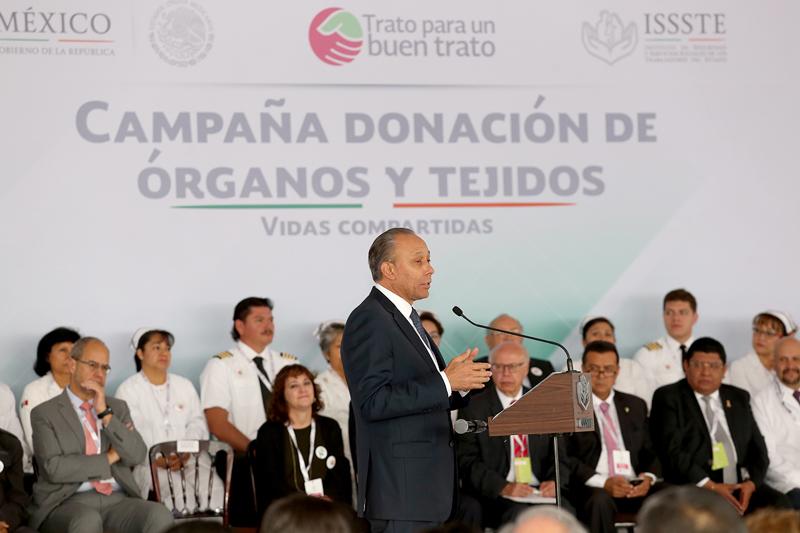 Donación de órganos no es suficiente: Narro Robles