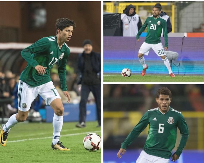 México sufre tres bajas para amistosos