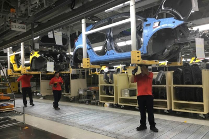 La exportación de autos en México crece 12.1% en 2017