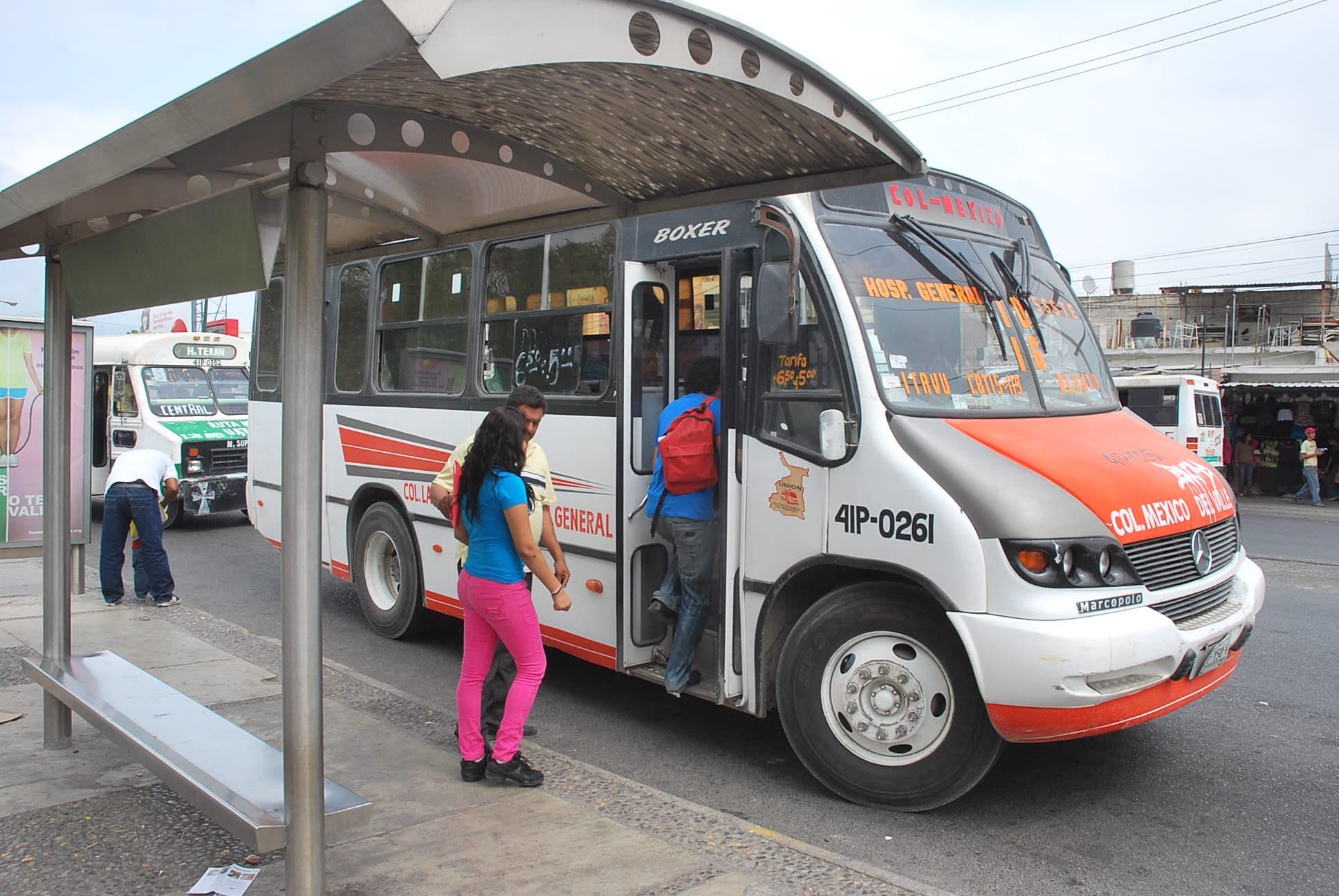La capital mantienen en el sur cambios en servicio de - Servicio de transporte ...