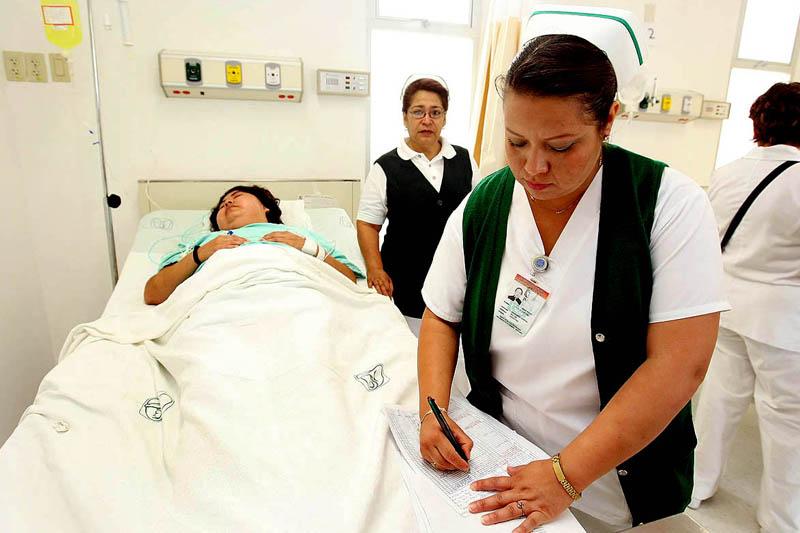 enfermera colegio