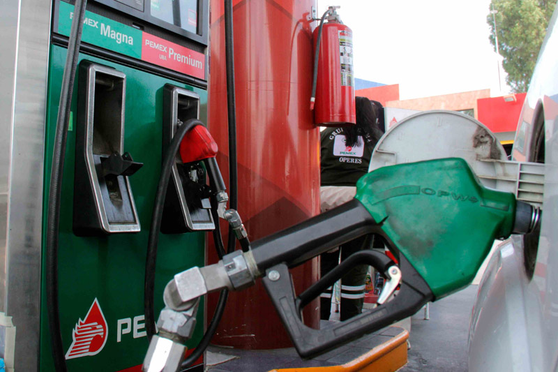 Magna y diésel cuestan un centavo más caros este jueves