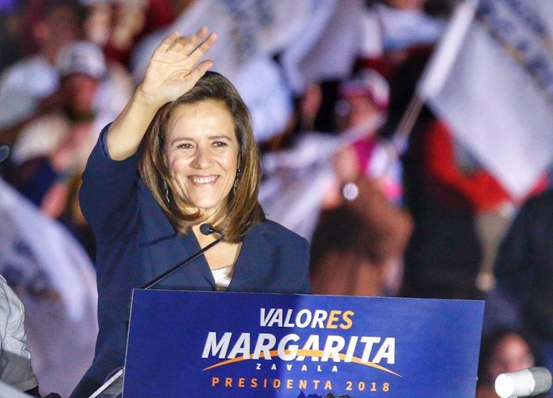 Analiza Margarita Zavala propuestas de los otros presidenciales